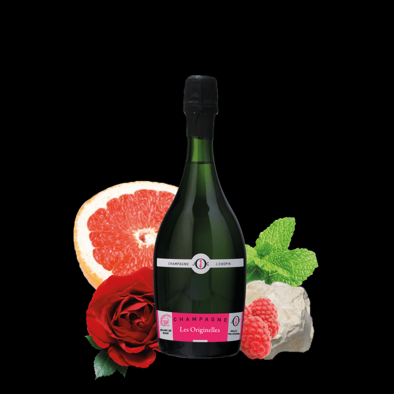 Julien Chopin brut Blanc de Rose