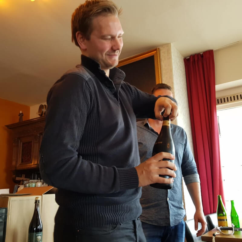 Bierproeverij in Amsterdam met Bubbels Meester