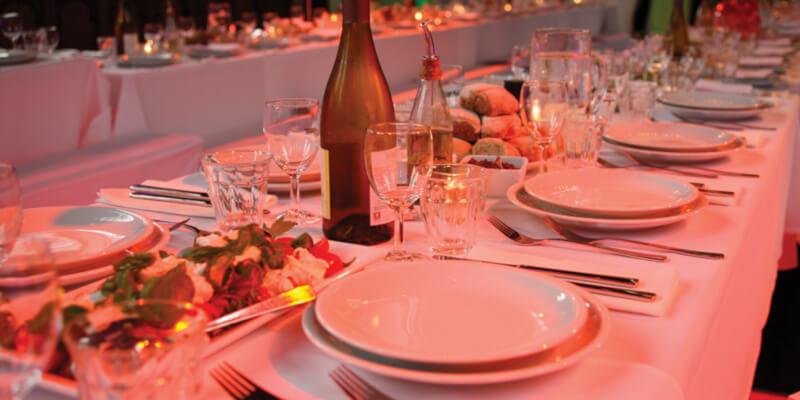 Tijdens de wijnproeverij wordt aan alles gedacht!