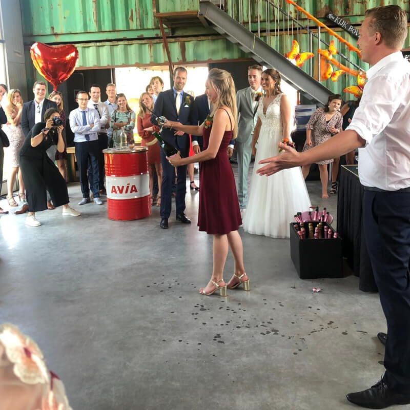 Bubbels Meester betrekt iedereen tijdens jouw bruiloft!