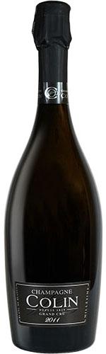 De cuvée Grand Cru Blanc de Blancs vintage 2012 van Colin uit Vertus in de Cote des Blancs